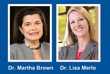 Drs. Brown and Merlo