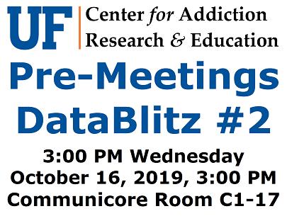 UF CARE DataBlitz 2 October 16 2019