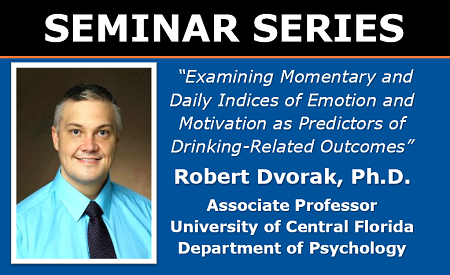 Robert Dvorak July 8 2020 Seminar