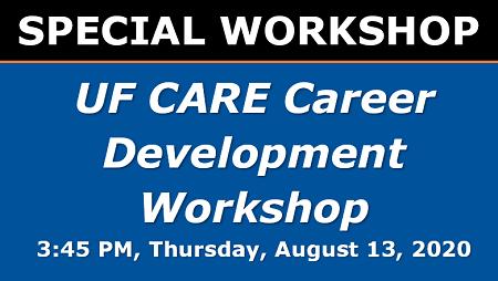 UF CARE Career Development Workshop