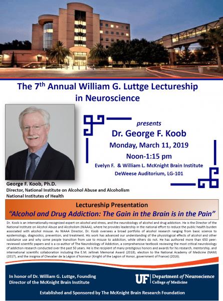 Luttge Lecture Dr. Koob