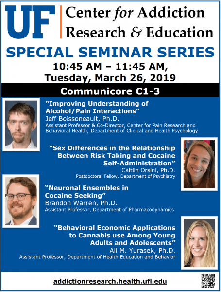 March 26 Special Seminar