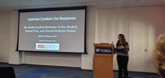 Dr. Kelly Cue Davis Seminar 1