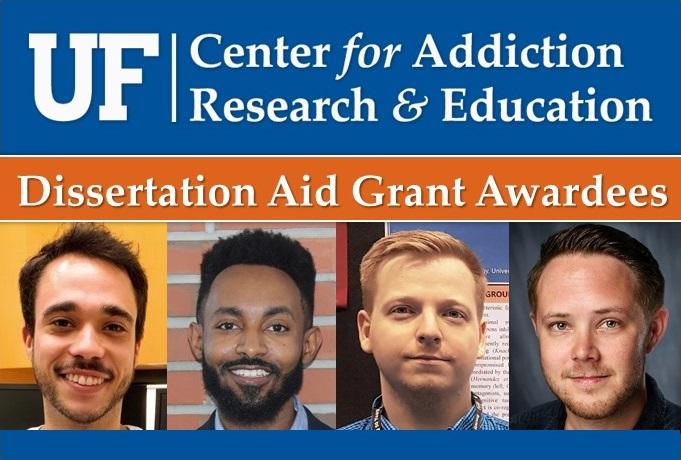 Dissertation Aid Grant Awardees: Christian Garica, Neo Gebru, Peter Hamor, Douglas Miller